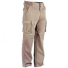 Spodnie z odpinanymi nogawkami KHAKI