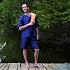 Pidżama podróżna męska jedwab