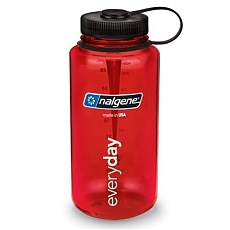 Nalgene Everyday 1L Clear Red