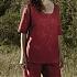 Piżama podróżna damska