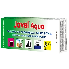 Tabletki do uzdatniania wody