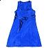 Sukienka jedwabna BLUE